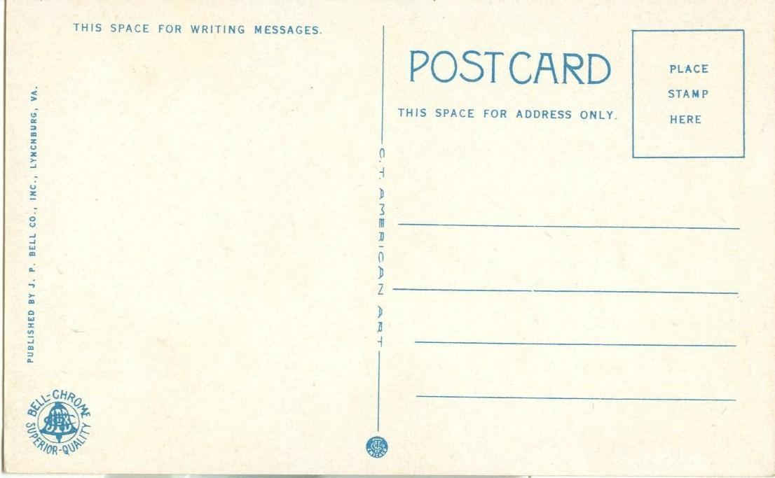 Natural Bridge, VA,  unused Postcard