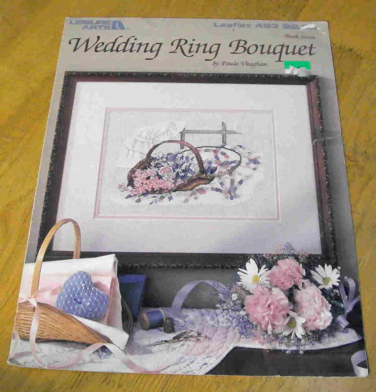 Weddingringbouquet