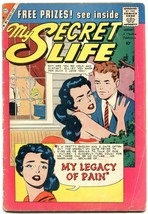 My Secret Life error printing copy- Silver Age Charlton romance G - $37.83
