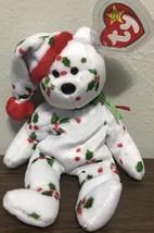 TY Beanie Baby Holiday Teddy The Bear 1998 - $4.88