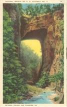 Natural Bridge on US Highway No 11, Between Pulaski and Staunton, VA, 19... - $3.99