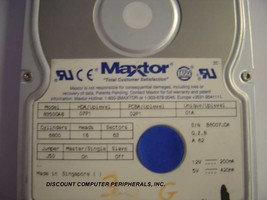 MAXTOR 83500A8 3.5GB 3.5IN IDE Drive Tested Good Free USA Shipping