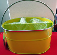 Living Solutions Oval Caddy with 4 sections for your Outside Eating  in ... - $9.99