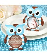 Blue Owl Design Picture Photo Frame Favor Baby Shower Gift Cute Adorable... - $2.58