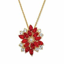 "Crystal Swarovski Elements 18k Gold-Plated Necklace 18""-20"" - $37.82"