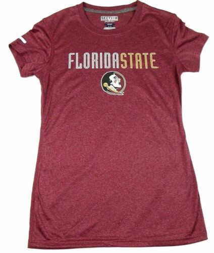 L 11/13 Junior Women's Florida State Seminoles Shirt Stamina1 Fan Fashion Tee
