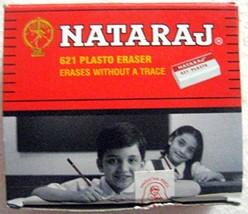 Set of 20 Nataraj 621 Plasto Erasers - White Eraser - Erases without a T... - $6.55