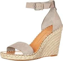 Dolce Vita Women's Noor Wedge Sandal, Grey Nubuck, 9.5 M US - $52.73