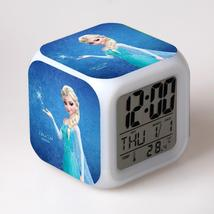 Anna and Elsa Frozen #07 Led Alarm Clock Figures LED Alarm Clock - $25.00
