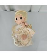 Precious Moments Angel Boy Kid Doll Stuffed Plush Musical Crib Pull Toy NEW - $59.39