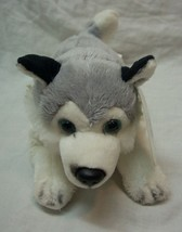 GUND Gundimals EXTRA SOFT HUSKY DOG Plush Stuffed Animal TOY NEW - $16.34