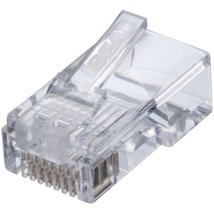 IDEAL 85-371 CAT-5E Feed-Thru RJ45 Mod Plugs (50 pk) - $41.29