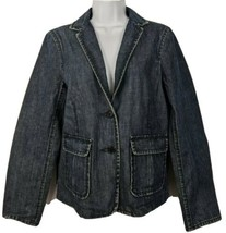 J Crew Denim Jean Jacket Size M Womens - $34.64