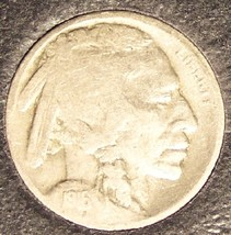 1916-S Buffalo Nickel F15 FULL DATE #291 - $15.99