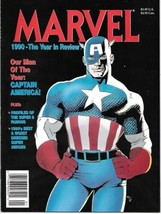 Marvel: 1990 - The Year In Review Magazine #2 New Unread Fine+ - $4.50