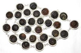 Rare Sudarshan Shaligram Mala / Sudershan Salagram Rosary - 28 Pc - In S... - $500.00