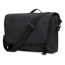 """Knomo 44-091-BLK """"Rupert"""" Messenger Bag for 14-Inch Laptop - Black Free ... - $127.90"""