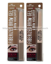 HARD CANDY* Brows Now! FIBERIZED BROW GEL+HIGHLIGHTER Long Wear *YOU CHO... - $10.48