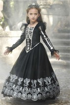 *NEW* CHASING FIREFLIES SKELETON PRINCESS COSTUME FOR GIRLS, SIZE 6 - $38.03