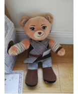 BUILD A BEAR STARWARS REY BEAR BOXED WITH CERTIFICATE  - $42.39