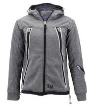 Boys Juniors Athletic Hoodie Sherpa Lined Kids Toddler Sweater Zipper Jacket image 2