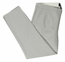 J Crew Womens Martie Slim Crop Ankle Pant in Bi-Stretch Cotton 8 Gray B8521 - $50.59