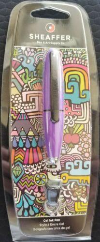 Sheaffer Ion Rollerball Pen In Clamshell - Lilac GEL INK PEN