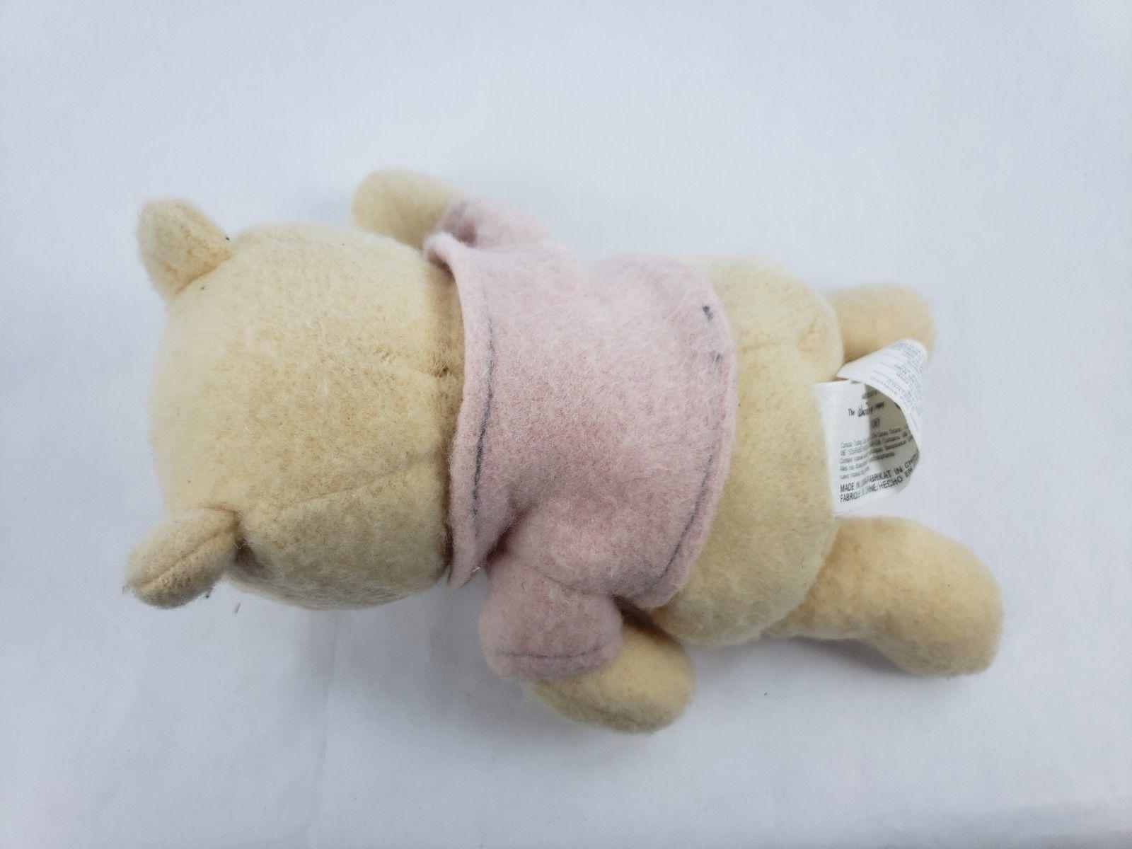 "Walt Disney Winnie the Pooh 8"" Plush Bear Classic Pooh Stuffed Animal"