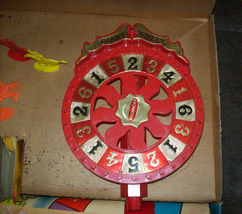 1958 VINTAGE REMCO GIANT WHEEL COWBOYS 'N INDIANS In Original Box image 4