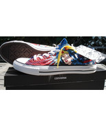 New Converse Men WONDER WOMAN All Star Lo Chuck Taylor DC Comics Shoes Low Women - $80.74