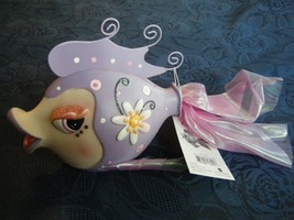 Fish Bank Dressed To Impress Pretty In Purple Character Collectible New ... - $9.84