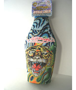 Ed Hardy Designs Zippered Beverage Cooler Tiger New With Tag - $5.00