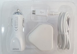 3 in1 SPEEDY. Charging Kit UK Mains Plug Car Charger iPhone Samsung HTC ... - $8.05
