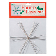 Darice Christmas Ornament Form - Snowflake - Large - 6 inches w - $6.99