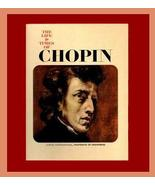 The Life & Times of CHOPIN Coffee Table Music Composer Book  - $32.99
