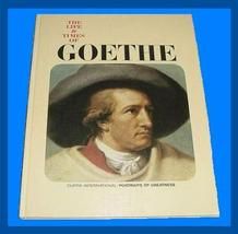 The Life & Times of GOETHE Coffee Table WRITER Book  - $32.99