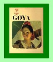The Life & Times of GOYA Coffee Table ARTIST Book - $32.99