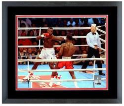 James Buster Douglas Vs. Evander Holyfield 1990 - 11 x 14 Matted/Framed Photo - $43.55