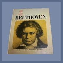 The Life & Times of BEETHOVEN Coffee Table Music Book  - $32.99