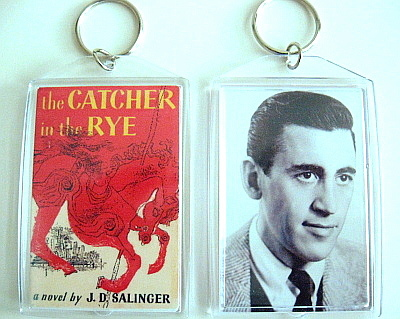 Jd salinger catcher in the rye keychain  carousel horse  to post