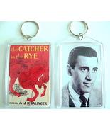 THE CATCHER IN THE RYE KEYCHAIN J.D. SALINGER HOLDEN CAULFIELD KEY CHAIN... - $7.99