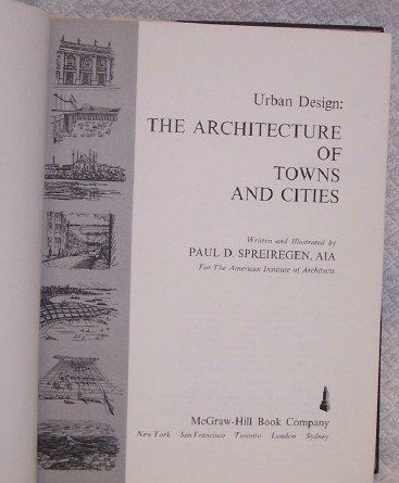 Urban Desgin Architecture of Towns and Cities