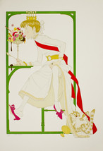 """Phillipe Noyer """"Princess Elodie And The Ice Cre... - $400.00"""