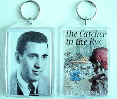 Jd salinger catcher in the rye keychain  holden cover