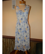 United Colors Of Benetton size Small Slip dress Preloved Blue Polyester - $25.99