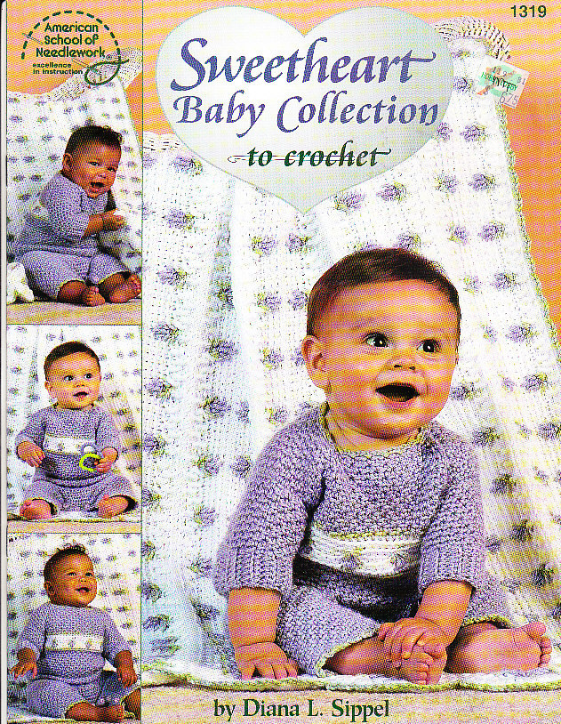*Crochet Sweetheart Baby Collection for Girls and Boys