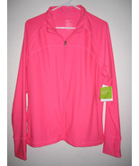 NWT Womens GAP BODY Pink Workout Yoga Running Jacket S ,M, L, XL, XXL - $25.99