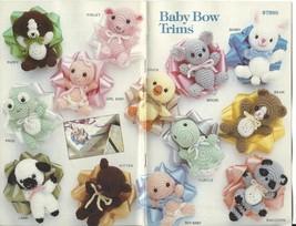 Annie's Baby Bow Trims Crochet Pattern~RARE - $39.99