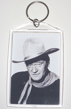 JOHN WAYNE KEY CHAIN THE DUKE KEYCHAIN TRUE GRIT SHOOTIST RIO LOBO BRAVO... - $6.50