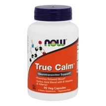 NOW Foods True Calm Amino Relaxer, 90 Capsules - $13.09